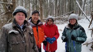Winter Walks at UU Princeton
